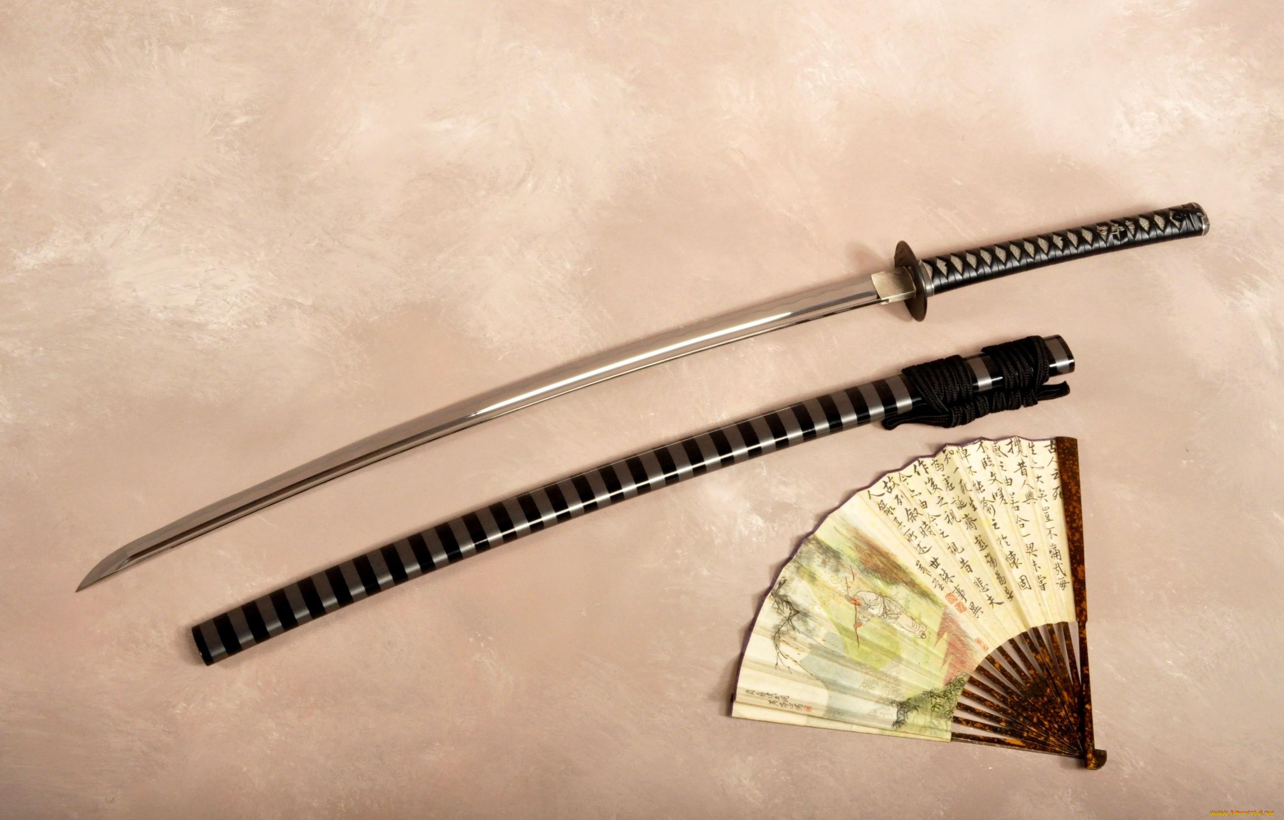 картинки мечей и самурайских катан подрочила стены